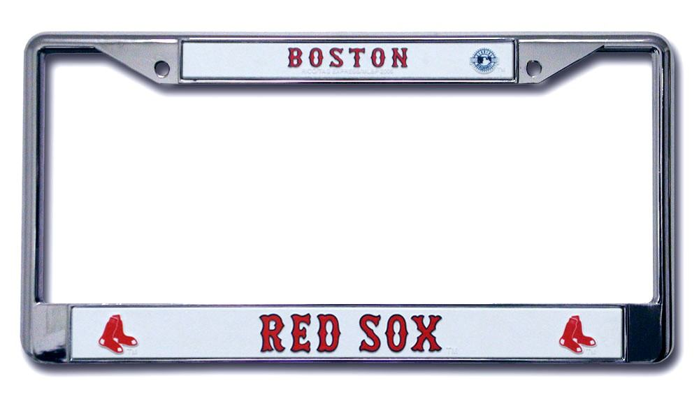 Boston Red Sox License Plate Frame Holder Final Playoff