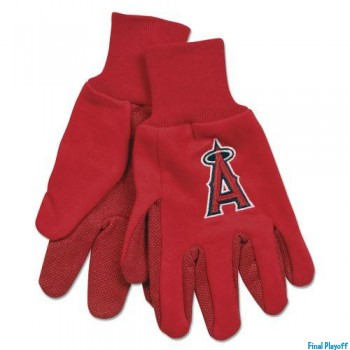 Anaheim Angels two tone utility gloves | Final Playoff