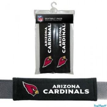Arizona Cardinals seat belt pads | Final Playoff