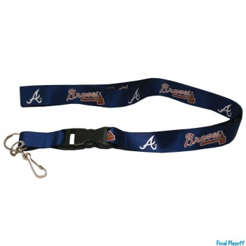 Atlanta Braves lanyard keychain detachable | Final Playoff
