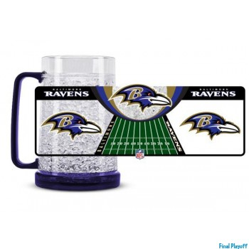 Baltimore Ravens freezer mug   Final Playoff