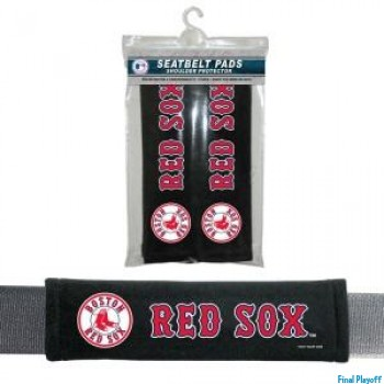 Boston Red Sox seat belt pads | Final Playoff