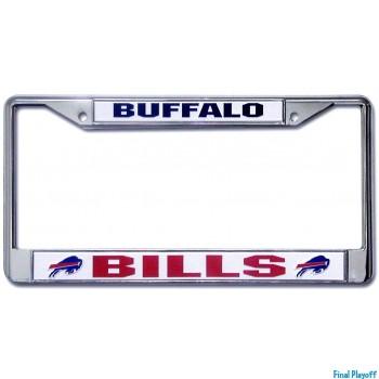 Buffalo Bills license plate frame holder   Final Playoff