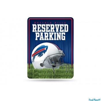 Buffalo Bills metal parking sign   Final Playoff