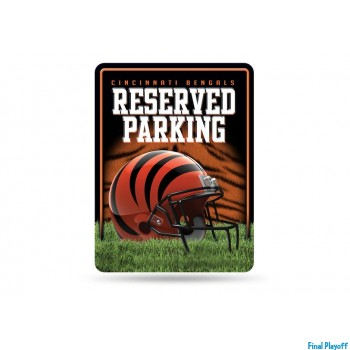Cincinnati Bengals metal parking sign | Final Playoff