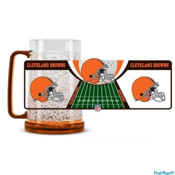 Cleveland Browns freezer mug | Final Playoff