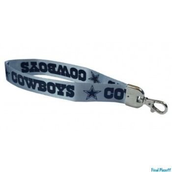 Dallas Cowboys wristlet lanyard lobster clasp | Final Playoff