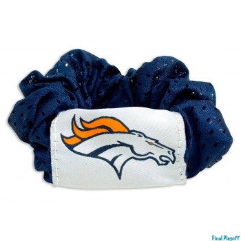 Denver Broncos hair scrunchie | Final Playoff