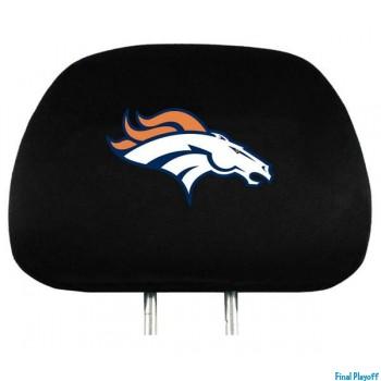 Denver Broncos headrest covers 2pc | Final Playoff