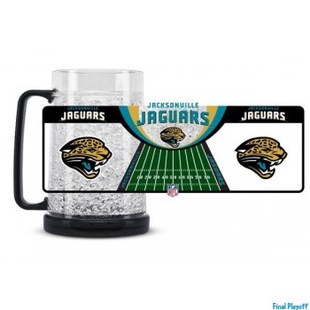 Jacksonville Jaguars freezer mug | Final Playoff