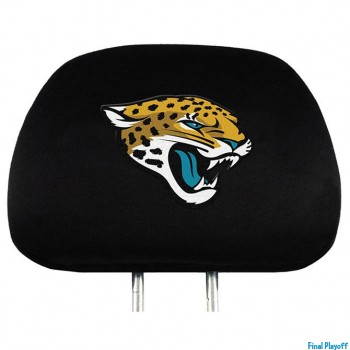 Jacksonville Jaguars headrest covers 2pc | Final Playoff