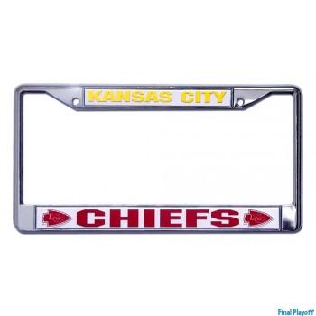 Kansas City Chiefs license plate frame holder | Final Playoff