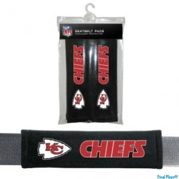Kansas City Chiefs seat belt pads | Final Playoff