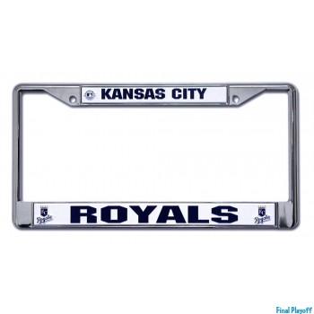Kansas City Royals license plate frame holder | Final Playoff