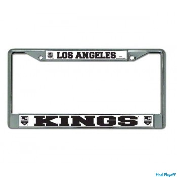 Los Angeles Kings license plate frame holder   Final Playoff