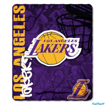 Los Angeles Lakers fleece throw blanket | Final Playoff