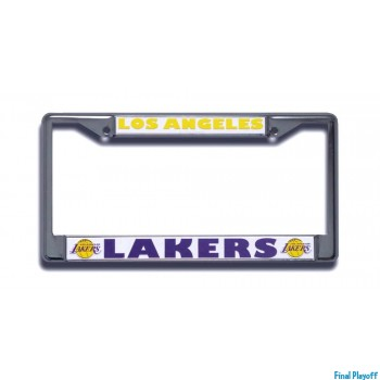 Los Angeles Lakers license plate frame holder | Final Playoff