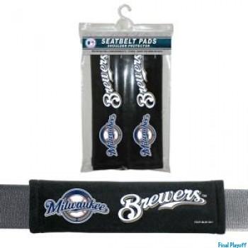Milwaukee Brewers seat belt pads | Final Playoff