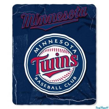Minnesota Twins fleece throw blanket | Final Playoff
