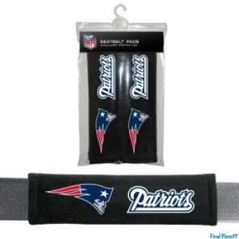 New England Patriots seat belt pads | Final Playoff