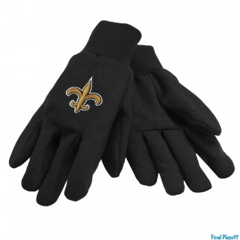 New Orleans Saints utility gloves | Final Playoff