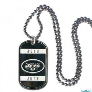 New York Jets dog tag necklace | Final Playoff