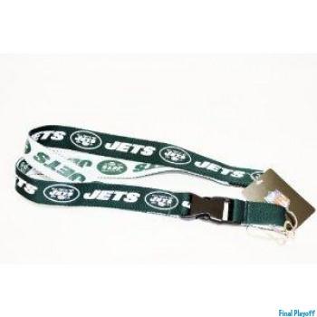 New York Jets lanyard keychain detachable 2 tone   Final Playoff