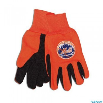 New York Mets two tone utility gloves | Final Playoff
