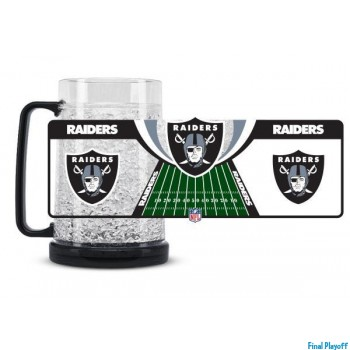 Oakland Raiders freezer mug | Final Playoff
