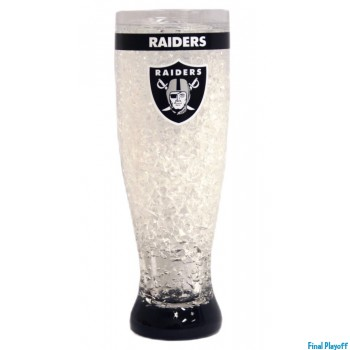 Oakland Raiders freezer pilsner | Final Playoff