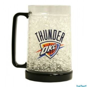 Oklahoma City Thunder freezer mug | Final Playoff