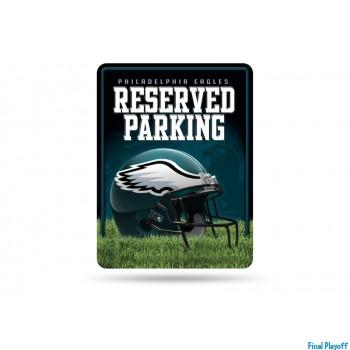 Philadelphia Eagles metal parking sign | Final Playoff
