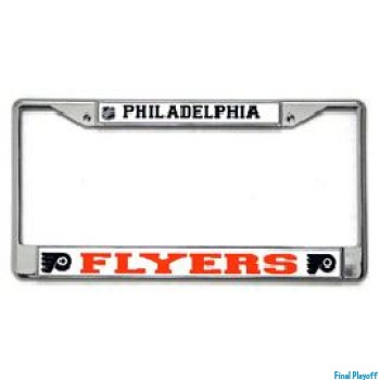 Philadelphia Flyers license plate frame holder | Final Playoff