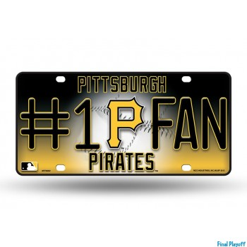 Pittsburgh Pirates metal license plate | Final Playoff