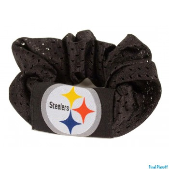 Pittsburgh Steelers hair scrunchie | Final Playoff
