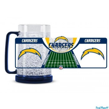 San Diego Chargers freezer mug | Final Playoff