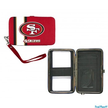 San Francisco 49ers phone case wallet | Final Playoff