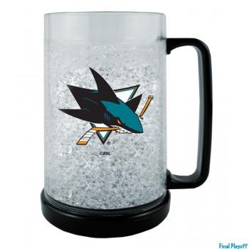 San Jose Sharks freezer mug | Final Playoff