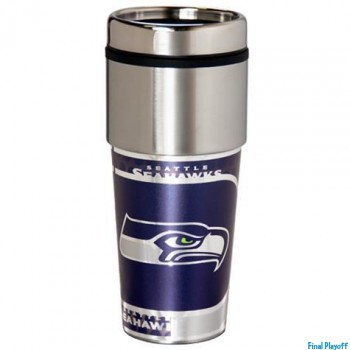 Seattle Seahawks travel mug tumbler | Final Playoff