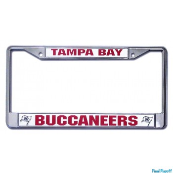 Tampa Bay Buccaneers license plate frame holder | Final Playoff