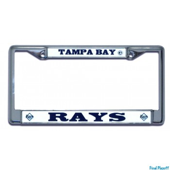 Tampa Bay Rays license plate frame holder | Final Playoff