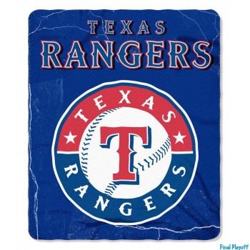 Texas Rangers fleece throw blanket | Final Playoff
