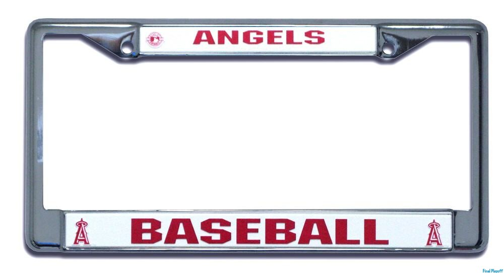 Anaheim Angels License Plate Frame Holder Final Playoff