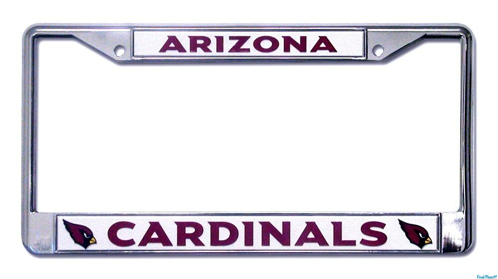 Arizona Cardinals license plate frame holder | Final Playoff