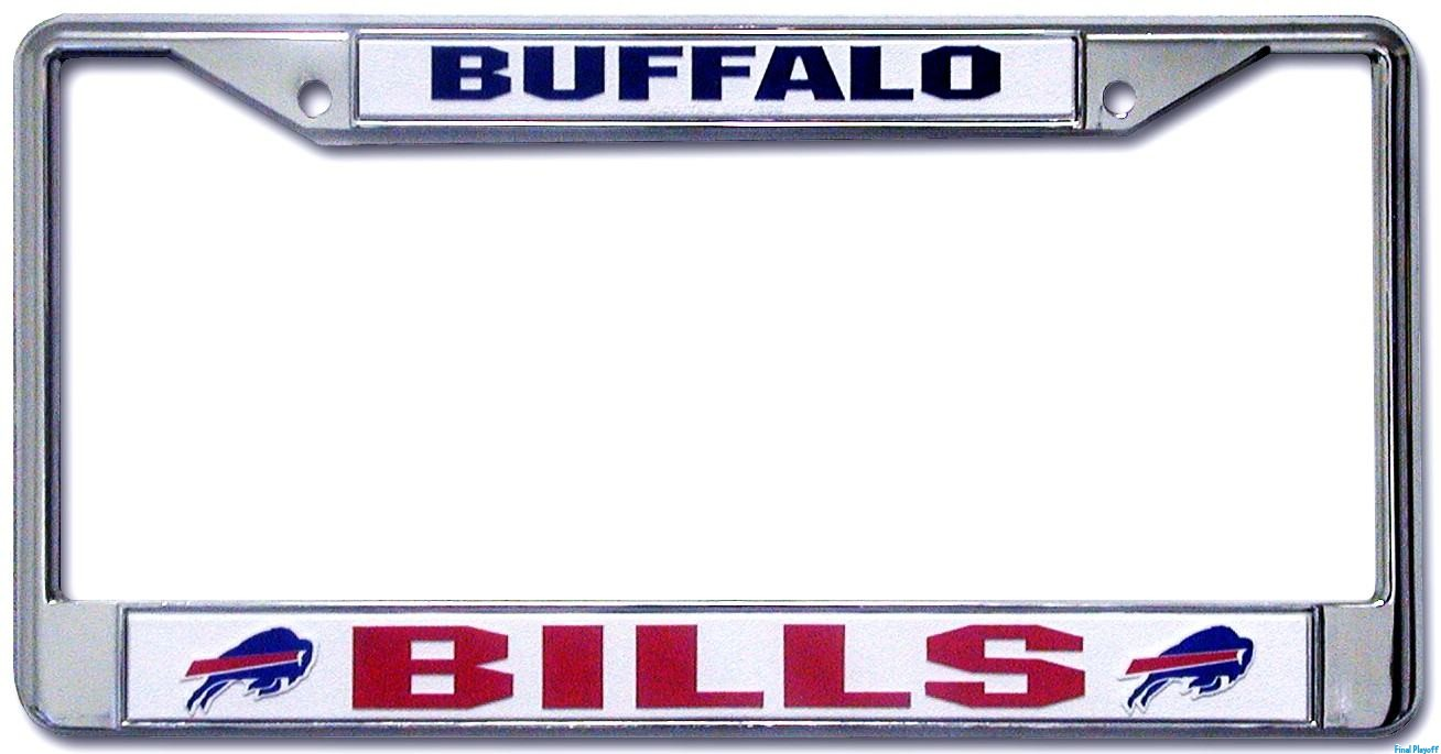 Buffalo Bills license plate frame holder | Final Playoff