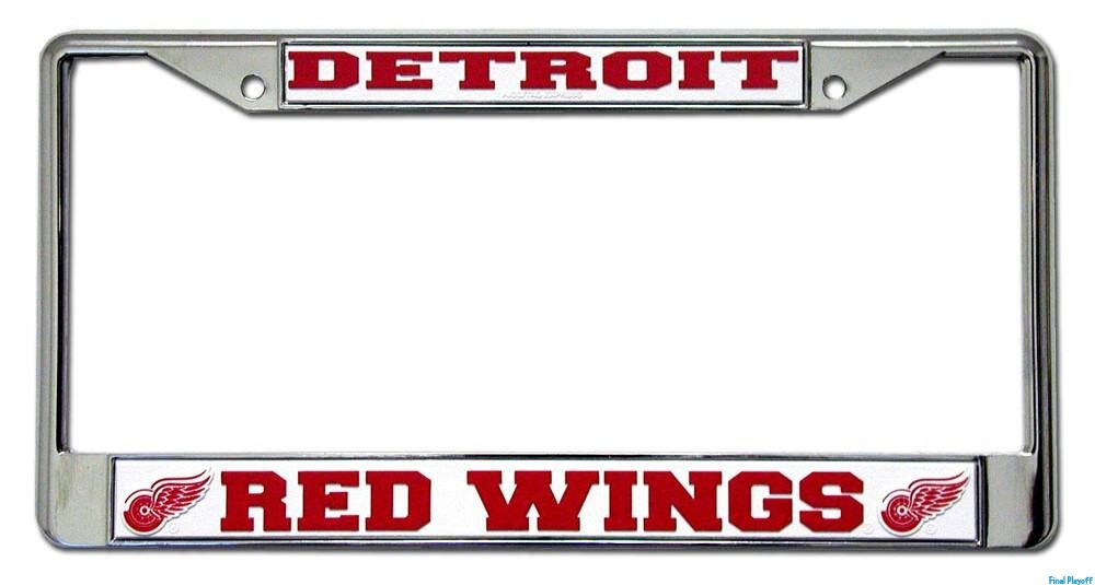 Detroit Red Wings license plate frame holder | Final Playoff