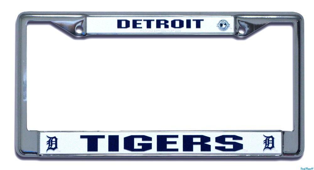 Detroit Tigers license plate frame holder | Final Playoff
