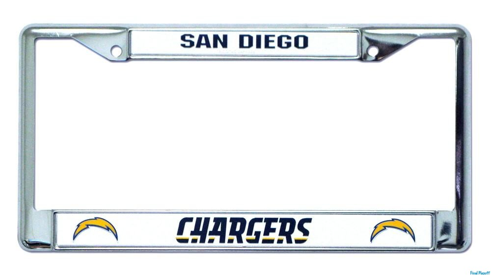 San Diego Chargers license plate frame holder | Final Playoff