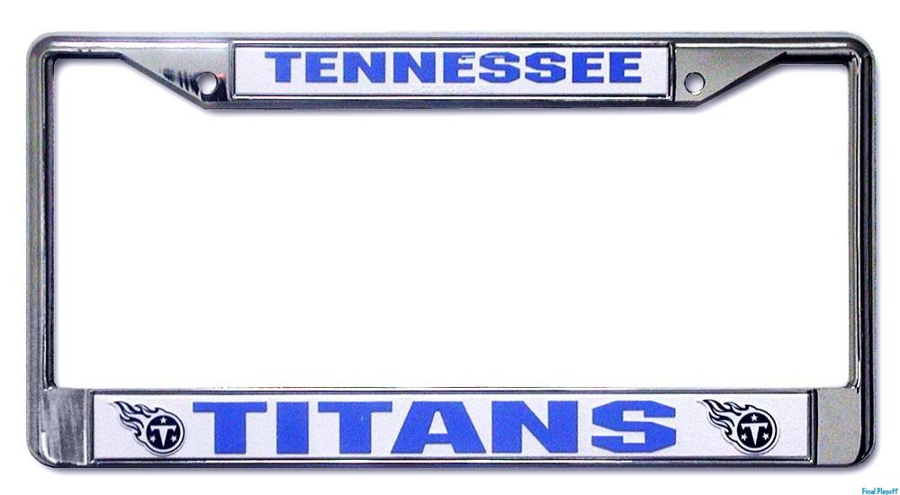 Tennessee Titans license plate frame holder   Final Playoff
