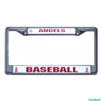 Anaheim Angels license plate frame holder | Final Playoff
